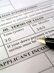 mortgage application image
